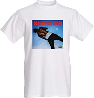 Travis Scott Days Before Rodeo T-Shirt-Size Large White