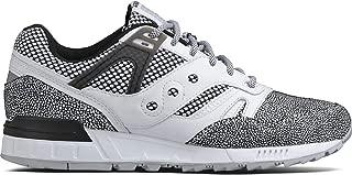 saucony grid 9000 grey white