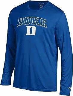 Champion Duke Blue Devils Adult NCAA Athletic Performance Long Sleeve T-Shirt - Royal
