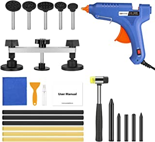BBKANG 23pcs Paintless Dent Repair Tools - Dent Removal Kit for Cars Door Dent Puller Pop-a-Dent Tool Hail Damage Ding Dent Remover
