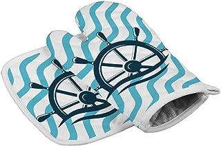 Eybfrre Juego de manoplas y soportes para ollas tropicales para horno, guantes de horno, resistentes al calor, antideslizante, para cocina, barbacoa, hornear, regalos para los amantes de los cocineros