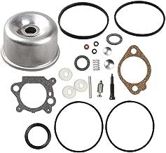 Euros Carburetor Intek Float Bowl Gasket Kit Overhaul Kit for Briggs & Stratton 796611 493640 398191 498260 492495 493762 490937 398183 498261 20-141-1 20-141 Carb for 3.5 4HP Max Series Engine