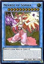Yu-Gi-Oh! - Nekroz of Sophia (CROS-EN038) - Crossed Souls - 1st Edition - Ultimate Rare by Yu-Gi-Oh!