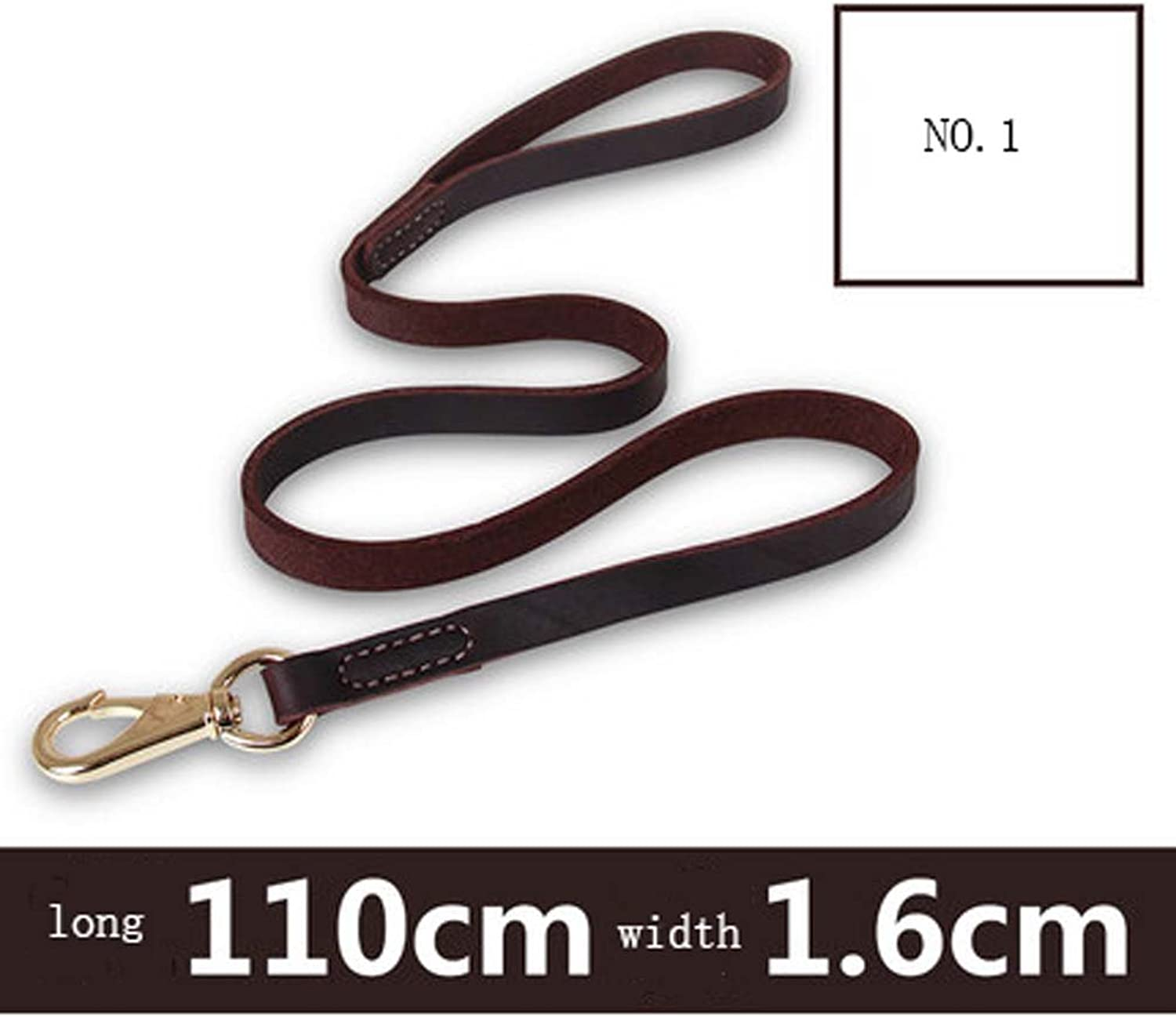 Dog Leash Small Medium And Large Dogs Pet Dog Chain Leather Dog Rope