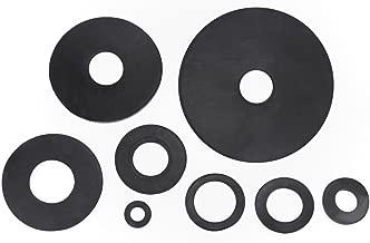 Gummiunterlegscheiben Unterlegscheiben 10, M6x33x5mm Dichtscheiben EPDM Gummischeiben