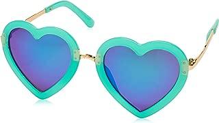 CMK Trendy Kids Kids Polarized Heart Shaped Sunglasses...
