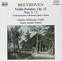 Beethoven: Violin Sonatas Op.1