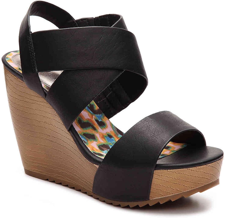 Madden girl Womens Rome Wedge Sandal