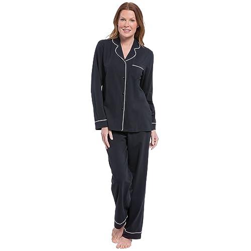be045eb89a PajamaGram Pajamas for Women Soft - Cotton Jersey Womens Pajamas