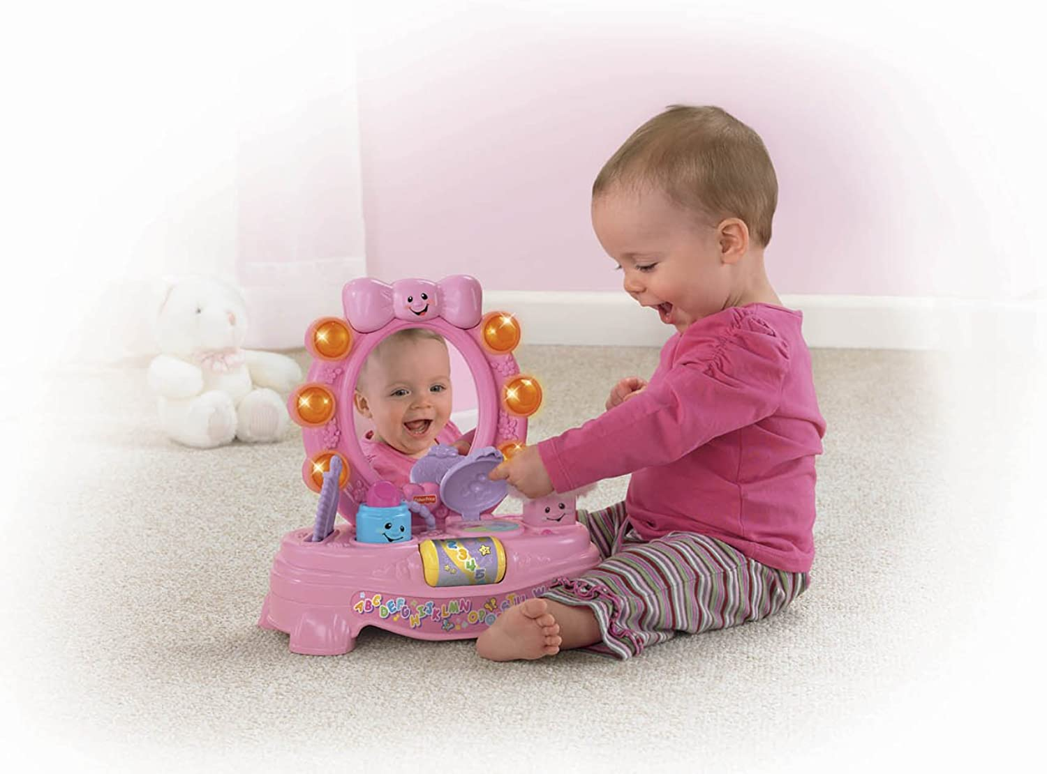 Más asequible Fisher Price Laugh And Learn Magical Musical Musical Musical Mirror  entrega rápida