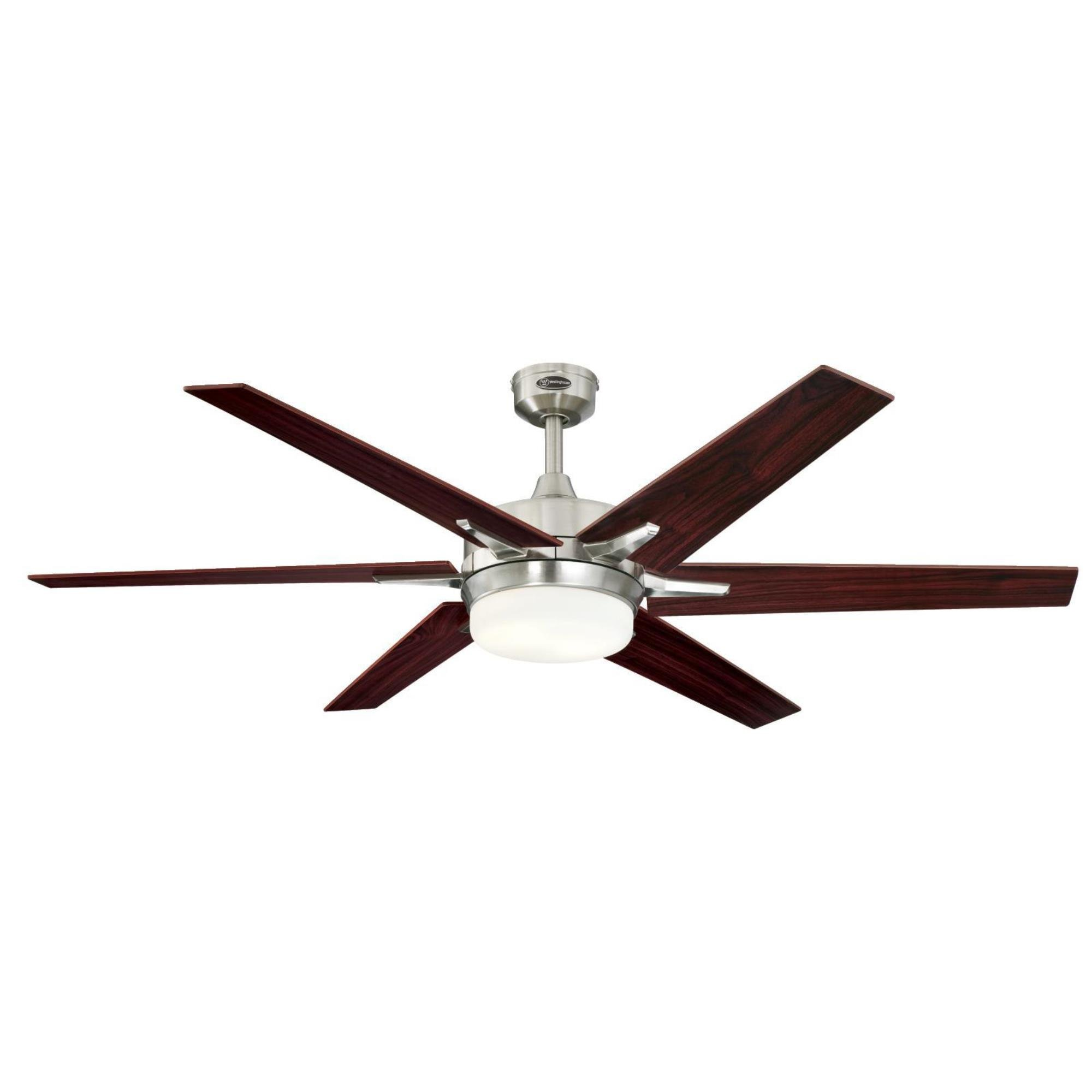 Westinghouse Lighting 7752600 Ceiling Fan Down Rod 12 Inch Brushed Nickel Finish 3//4 Inch Diameter