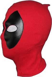Deadpool Mask Costume Halloween mask Hood Cotton Spandex Leather for Kids Adult