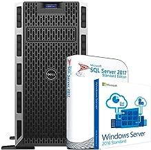 Dell PowerEdge T430 SQL Server, 2 x Intel E5-2623 v3 3.0GHz, 64GB DDR4 RAM, 1TB SSD, Windows Server 2016, SQL Server 2017 Standard