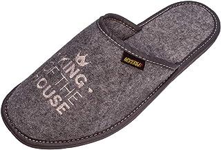 Zapatillas de Hombre Apreggio Light Natural 100% Piel Natural Producto Hecho a Mano Suela Blanda Flexible y Confortable