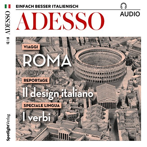 ADESSO Audio - Roma. 11/2017 audiobook cover art