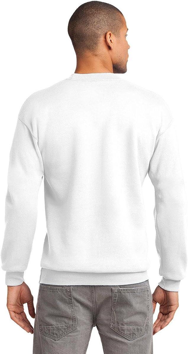 Port & Company Men's Big And Tall Crew Waistband Sweatshirt_Maroon_3XLT