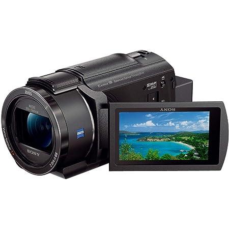 ソニー ビデオカメラ FDR-AX45 4K 64GB 光学20倍 ブラック Handycam FDR-AX45 BC