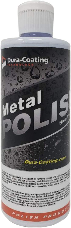 Dura-Coating Blue Premium Metal ショップ 買い取り Polish – 16 oz. fo