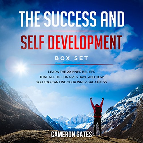 The Success and Self Development Box Set audiobook cover art