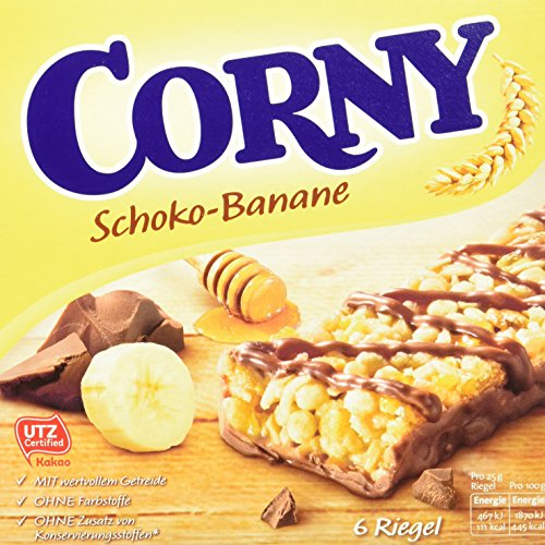 Corny Classic Schoko-Banane, Müsliriegel, 10er Pack (10 x 150g)