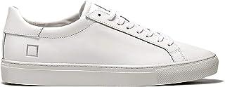 D.A.T.E. Nw-CA-WH Sneaker Uomo in Pelle Bianca
