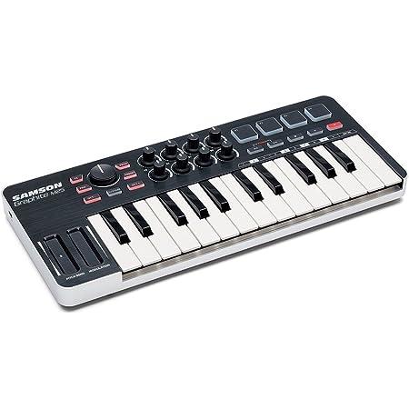 Samson SAKGRM25 - Controlador MIDI (Mini-USB, 25 teclas)
