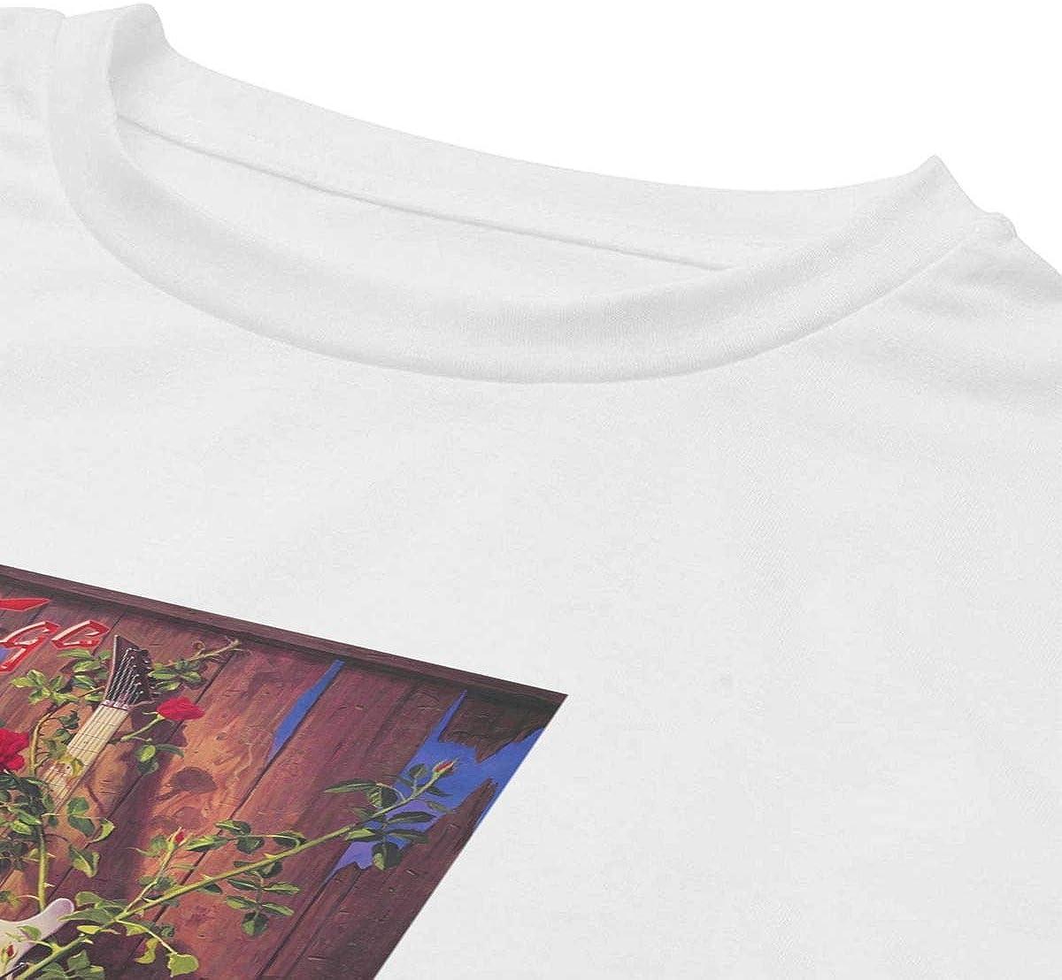 AMZOPDGS Savatage Womens Short-Sleeved Summer Cotton T-Shirt Fashion Round Neck Casual TopBlack