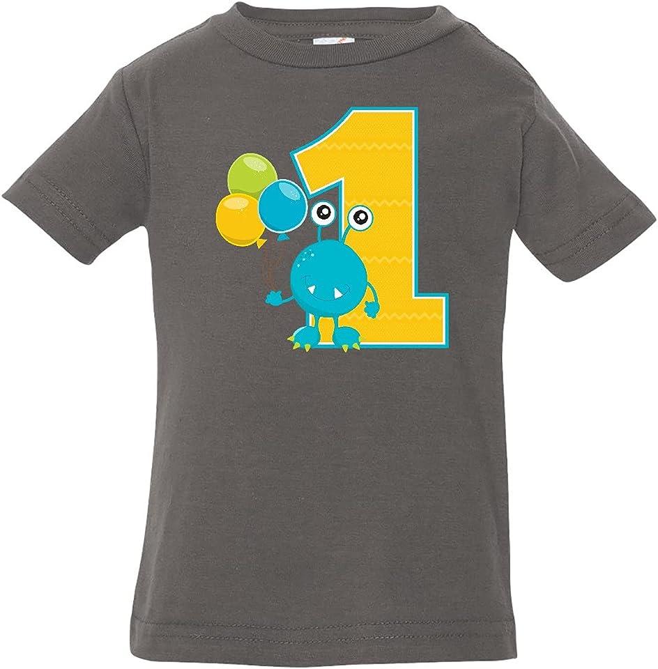 First Birthday Monster Baby T-Shirt