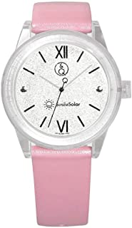 Q&Q Girls RP18J004Y Year-Round Analog Solar Powered Pink Watch