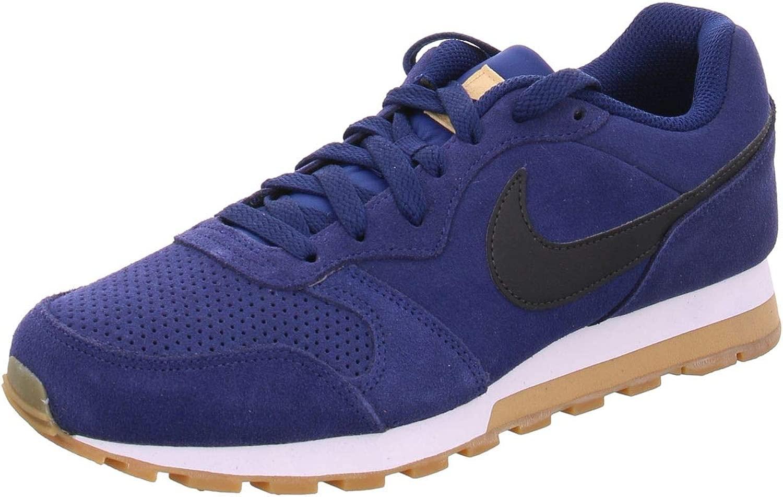Camano Nike MD Runner 2 2 Suede, blau(BlauvoidschwarzclubGold), Gr. 7  Großhandelsgeschäft