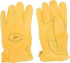 Tuff Mate Gloves Mens Tuff Mate Lined PL1301 Cutting Horse Glove L Tan
