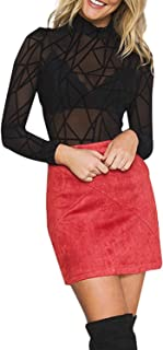 Best red bodycon mini skirt Reviews