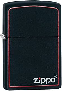Zippo Classic Black and Red