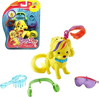 Sunny Day Doodle Dog Pop-In Style Doll 8.9cm