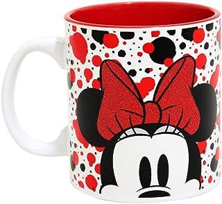 Disney Minnie Mouse Glitter Dot Mug