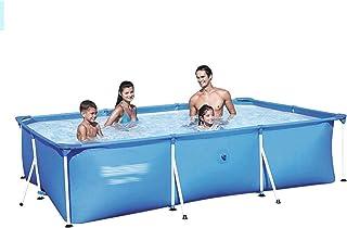 Inflatable Pool, Bracket Swimming Pool Adult Thickened Swimming Pool Courtyard Foldable Bathtub Outdoor Bracket Large Bath...