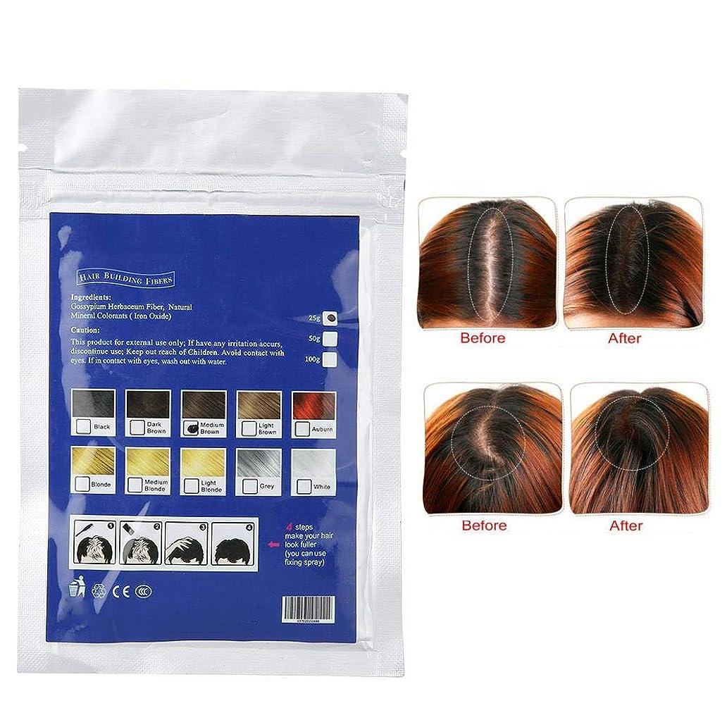 王室ハング対角線ヘアフィラー、ヘアボリュームパウダー、髪の根元を薄くするためのカバーアップヘアフィラー(3#)
