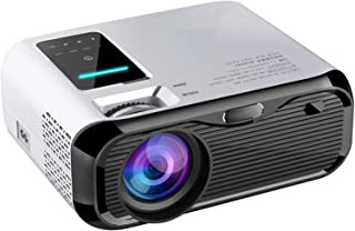 """【2020 New】 JIEGAO Portable Projector, 5500 Lux Wireless Mini Projector HD 1080P and 220"""" Display Supported, Compatible wit..."""