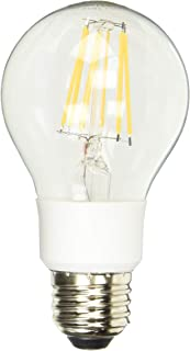 Satco S9846 Medium Light Bulb in White Finish, 4.50 inches, Clear
