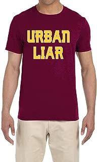 Maroon Urban Liar T-Shirt