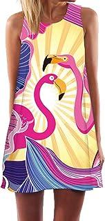 Ocean Plus Mujer Verano Flamenco Camisola Vestido De Playa