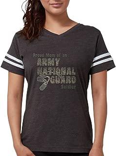 CafePress - National Guard Mom (Tags) T-Shirt - Womens Football Shirt