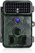 JIMITO Wildkamera Fotofalle 12MP mit Bewegungsmelder Nachtsicht 18650 Batterie Wildkamera 1080P Full HD 940nm IR LED Jagd Kamera IP56 Wasserdicht Wildtierkamera f/ür Jagd und Tierbeobachtung