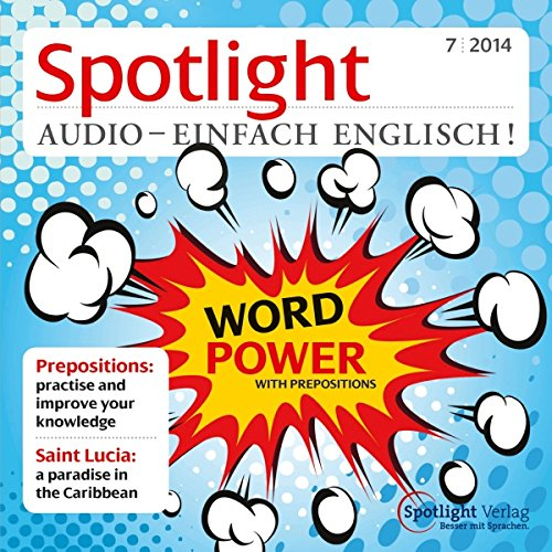 Spotlight Audio - Prepositions. 7/2014 Titelbild