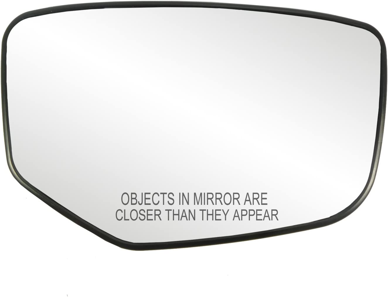 For Mirror Glass Non-Heated W//Base 13-17 Accord Driver Left Wider Side View Lens