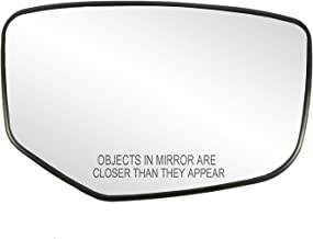 Fit System 30215 Honda Accord Right Side Heated Power Replacement Mirror Glass with Backing Plate