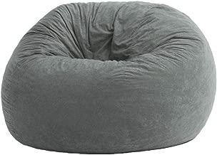Comfy Velvet Bean Bag 9,Silver