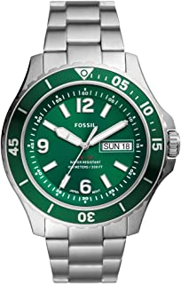 FOSSIL MENS FB - 02 STAINLESS STEEL WATCH - FS5690