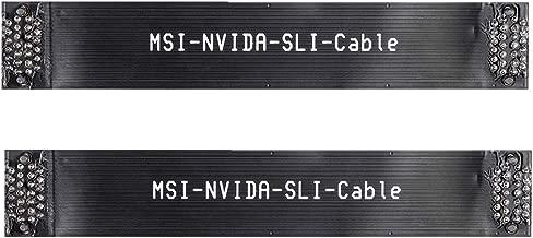 Kyerivs 2 Way SLI Bridge Flexible 3 Slot SLI Crossfire Connector for ASUS 120mm 1pc Nvidia Graphics Card