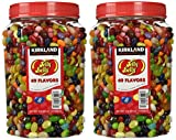 KIRKLAND SIGNATURE - Gourmet Jelly Beans, Blueberry, 4 Pound (Pack of 2), 128 Ounce